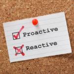 van reactief naar proactief gedrag